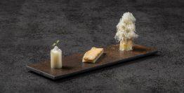 Esparrago-de-Navarra-en-tres-presentaciones-restaurante-Fierro